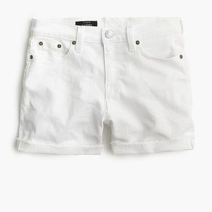 J. Crew - Denim Shorts in White